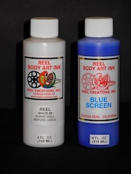 REEL BODY ART KIT - BLUE SCREEN