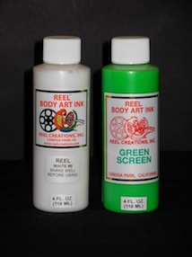 REEL BODY ART KIT - GREEN SCREEN