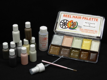 REEL MARVIN WESTMORE HAIR & BROW F/X PALETTE KIT