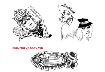 REEL TRANSFER SHEET - Prison Gang VIII - Latino