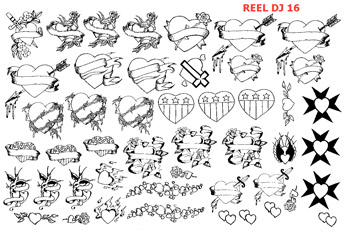 REEL TRANSFER SHEET - D.J. 16