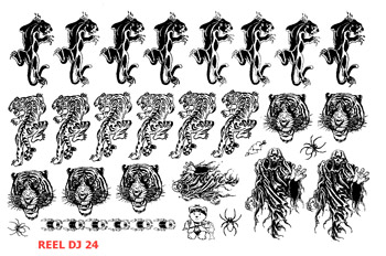REEL TRANSFER SHEET - D.J. 24