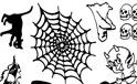 REEL TRANSFER SHEET - Halloween